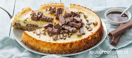 Kitkat cheesecake