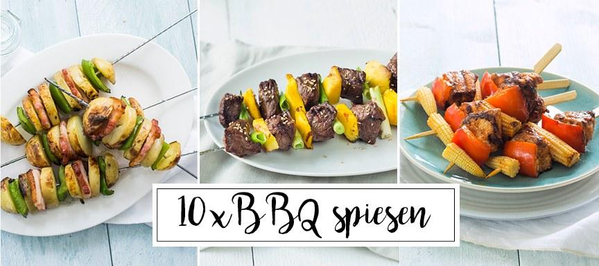 10 x BBQ spiesen