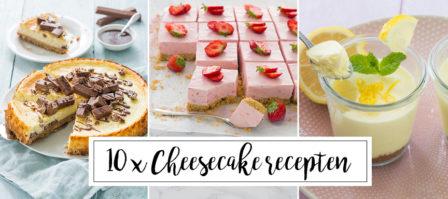 10 x cheesecake recepten