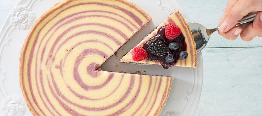 bosvruchten cheesecake www.leukerecepten.nl