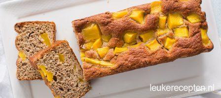 Bananenbrood mango