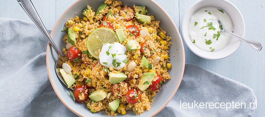 Mexicaanse couscous salade