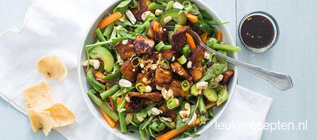 Kip ketjap salade