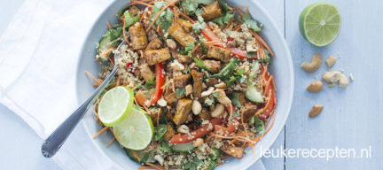 Thaise quinoa salade