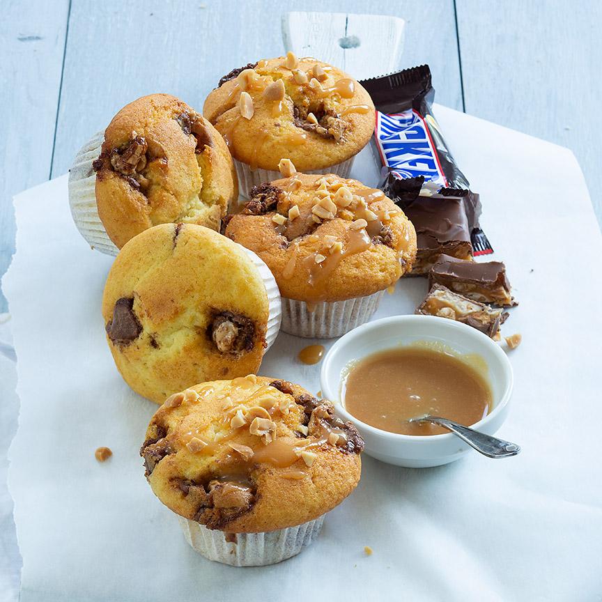 snicker muffins www.leukerecepten.nl