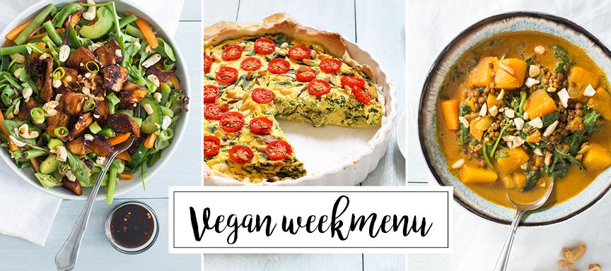 Verrassend en lekker vegan weekmenu + handige kooktips