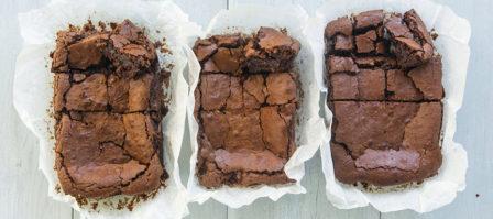 Baktest Brownies Met Boter Olie En Margarine Recept Leuke