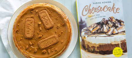Review Cheesecake + recept speculoos cheesecake