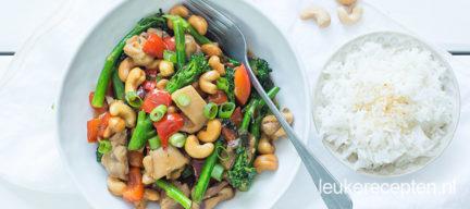 Recept kip cashew met bimi + wat kun je nog meer met bimi?