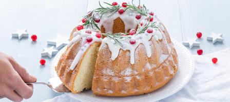 Makkelijk bakken met kerst: kerst tulband cake