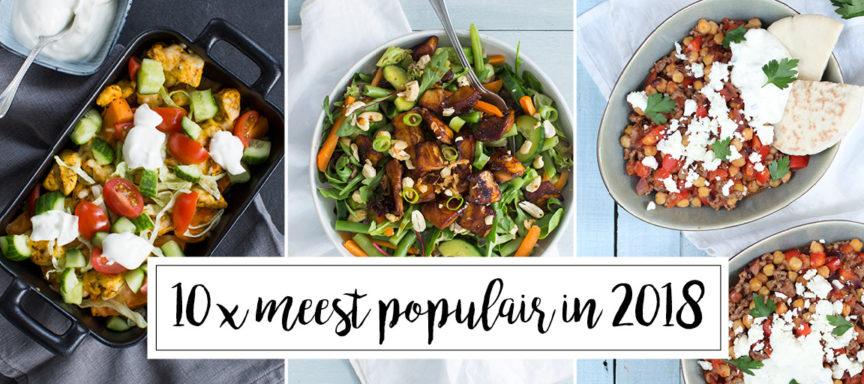 10 x de meest populaire recepten van 2018