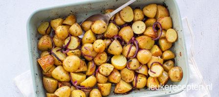 Geroosterde aardappels uit de oven