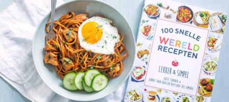Review 100 Snelle Wereldrecepten + recept Surinaamse bami
