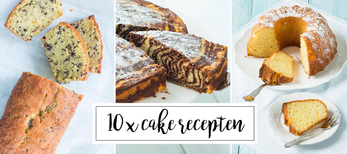 10 x cake recepten