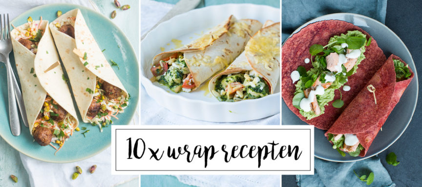 10 x wrap recepten