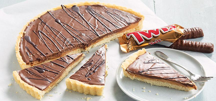 Twix taart
