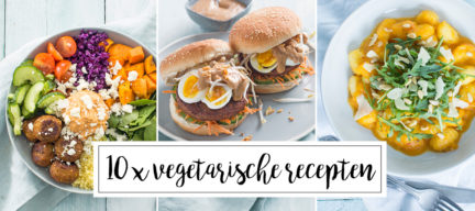 10 x vegetarische recepten