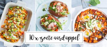 10 x zoete aardappel recepten