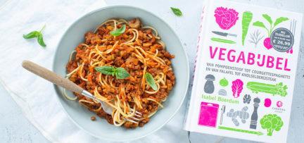 Review Vegabijbel + recept vegetarische spaghetti bolognese