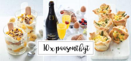 Feestelijke tips voor het paasontbijt + 10 paasrecepten