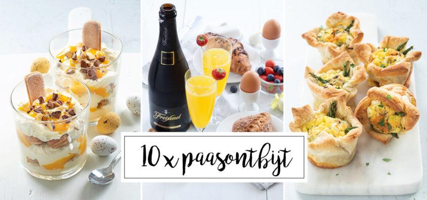 10 x paasrecepten + feestelijke tips voor het paasontbijt
