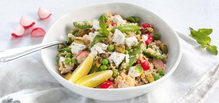 Couscous salade met munt