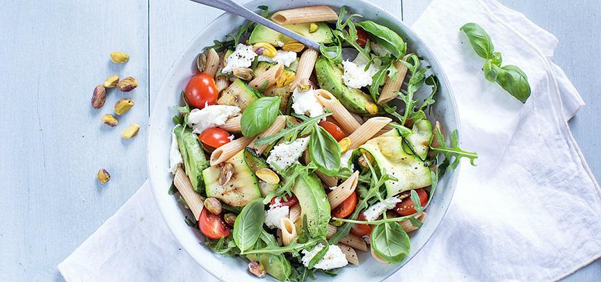 Gezonde pastasalade