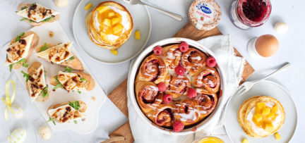 3 x tasty and quick recipes for the Easter breakfast