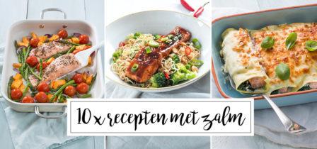 10 x recepten met zalm