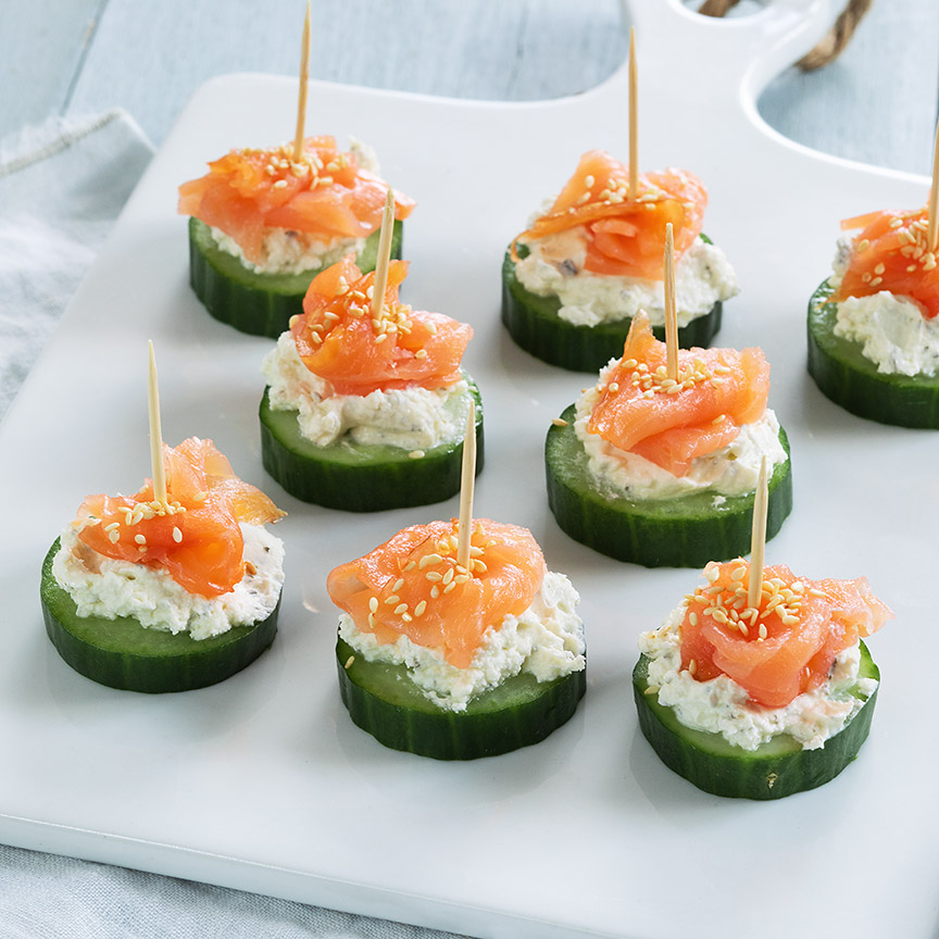 komkommer-met-zalm