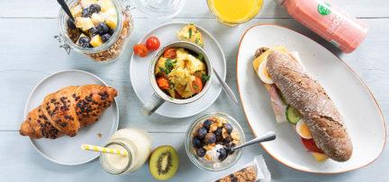 5 x snelle ontbijtjes in 5 minuten, ook voor onderweg!