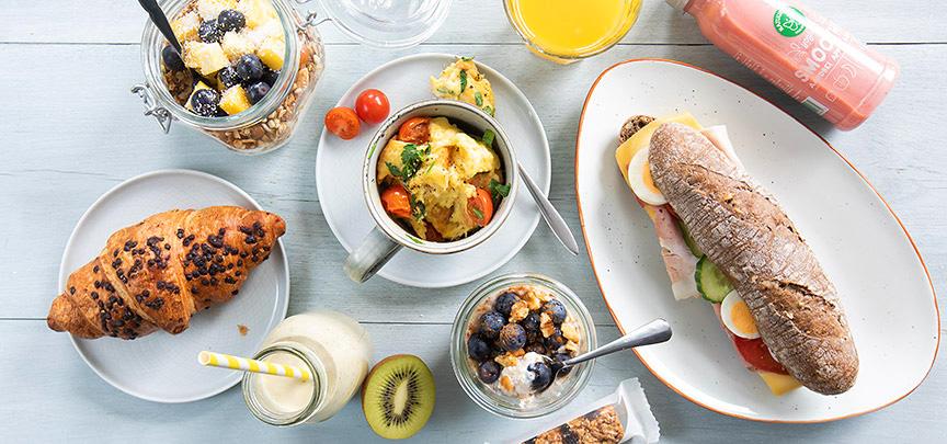 5 x snelle ontbijtrecepten in 5 minuten, ook voor onderweg!