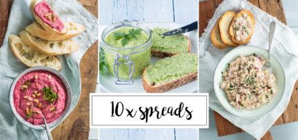 10 x lekkere en gezonde spreads