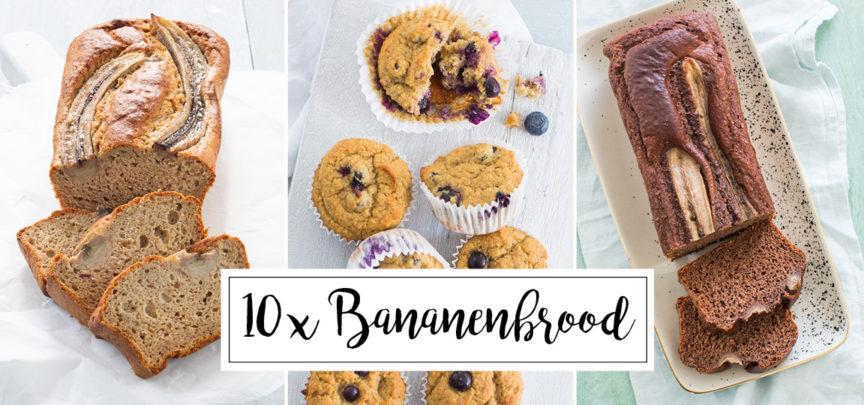 10 x bananenbrood recept