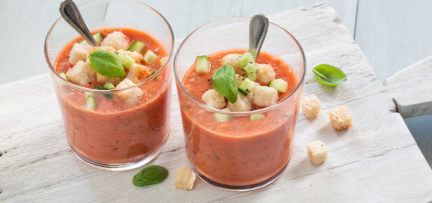 Klassieke gazpacho