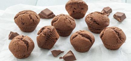 Mini chocolade muffins