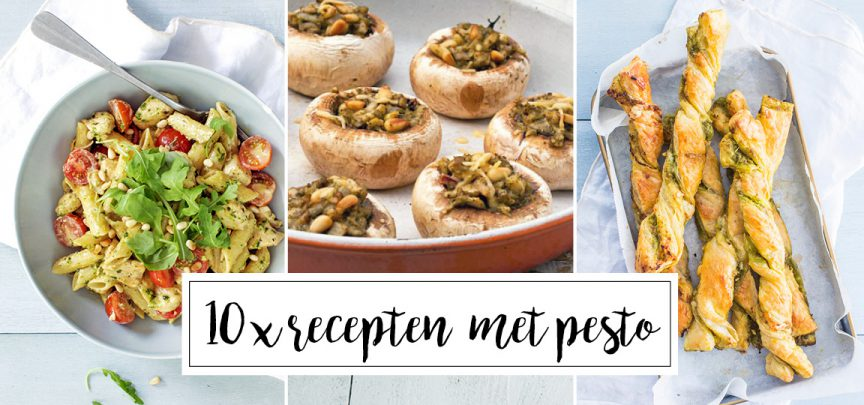 10 x recepten met pesto