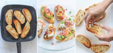 Stap voor stap bruschetta's maken + 3 recepten