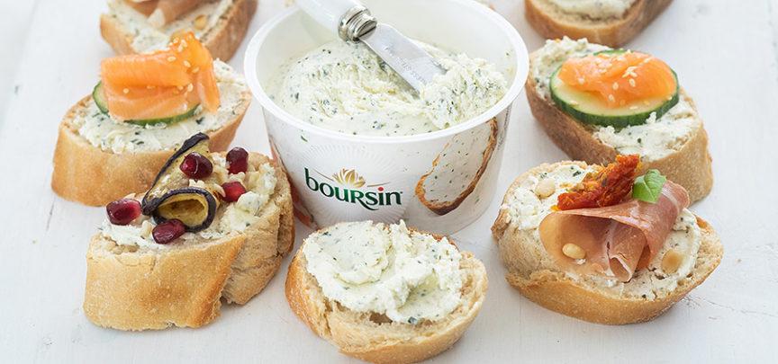 3 x lekkere variaties op een toastje met Boursin