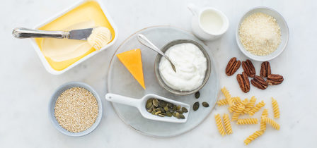 Waarmee vervang je noten, zuivel, lactose, vlees en gluten?