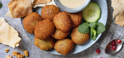 Recept zelfgemaakte falafel