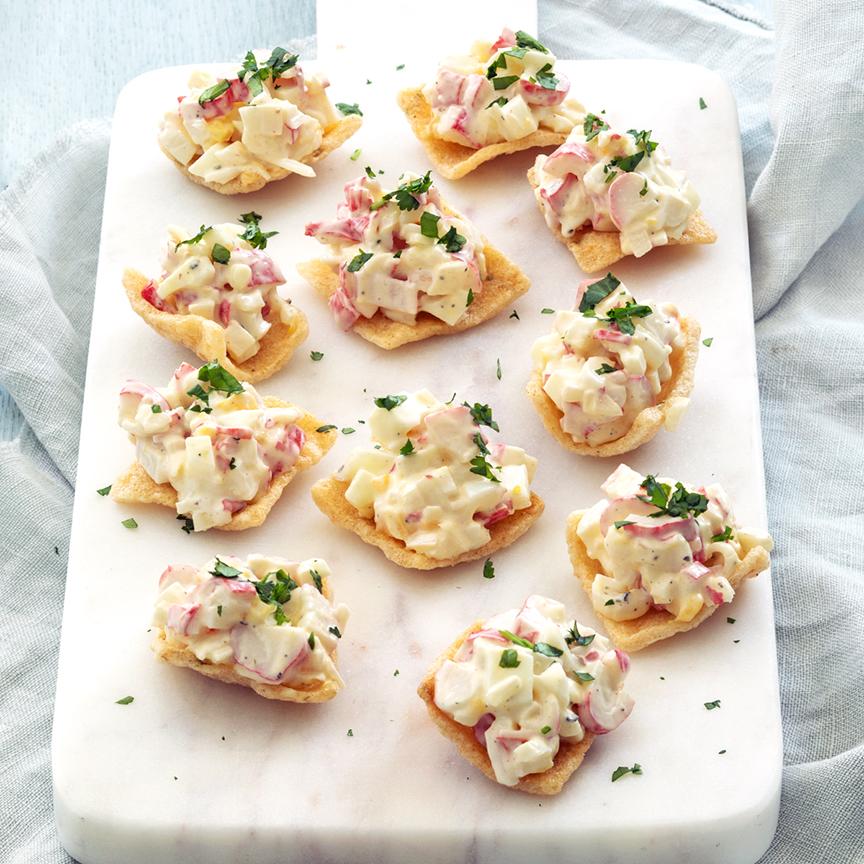 kroepoek-salade