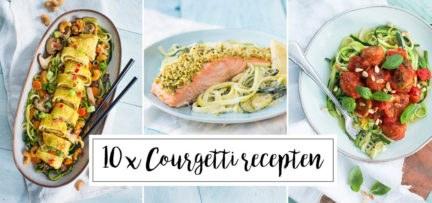 10 x courgetti recepten