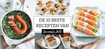 De 10 beste recepten van december