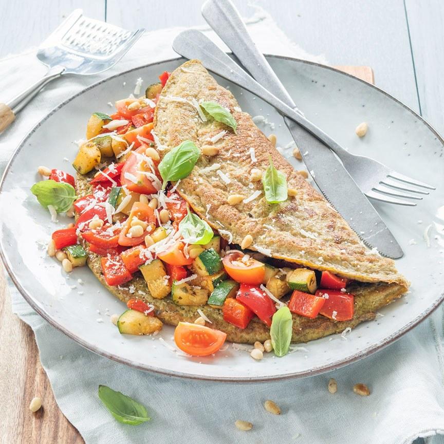 italiaanse boeren omelet www.leukerecepten.nl