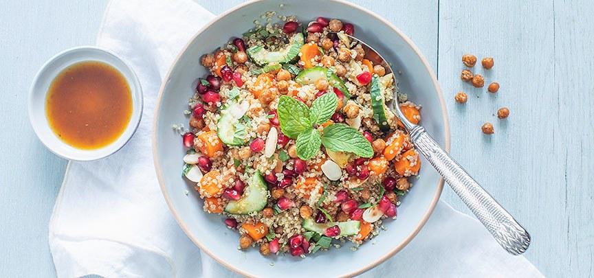 Marokkaanse quinoa salade
