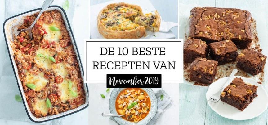 De 10 beste recepten van november