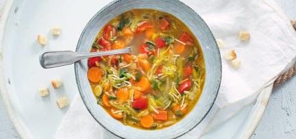 Vegetarische groentesoep