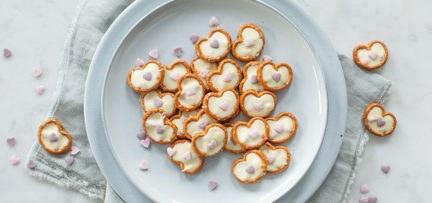 Chocolade valentijn pretzels