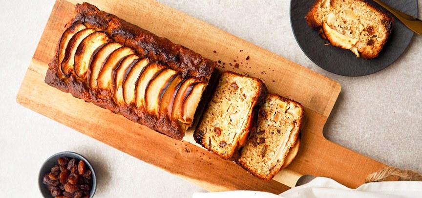Glutenvrije cake met appel